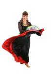 cyganka tancerkę. zdjęcie royalty free