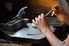 cygaro manufaktura zdjęcia stock
