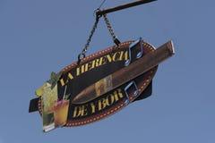 Cygarowego sklepu obwieszenia znak Obraz Royalty Free