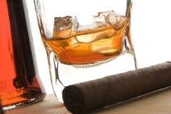 cygarowy napój Obrazy Stock