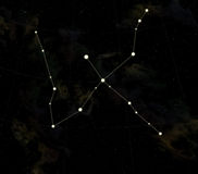 cygne de constellation illustration libre de droits