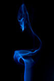 Cygne de fumée Photos libres de droits