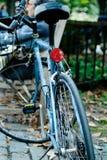 Cykel bakifrån Arkivbild