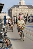 cykel copenhagen Arkivfoton