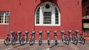 Cykel för att hyra Royaltyfri Foto