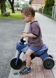 Cykel för barnridningleksak Fotografering för Bildbyråer