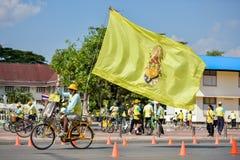 Cykel för farsaaktivitet i fadern Day Royaltyfri Foto