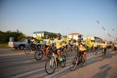 Cykel för farsaaktivitet i fadern Day Arkivfoto