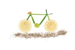 Cykel från citronen och löken Fotografering för Bildbyråer