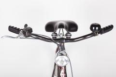 Cykel framifrån arkivfoto
