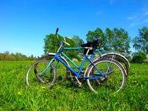 cykel gammala två Arkivbild