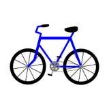 cykel gears symbolen royaltyfri illustrationer