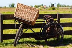 cykel holland Arkivbild