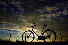 Cykel holland Arkivfoto