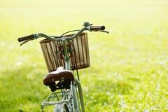 Cykel i parken Arkivbilder