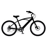 Cykel i vektor Royaltyfri Foto