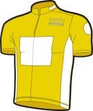 cykel jersey vektor illustrationer