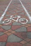 cykel långt Fotografering för Bildbyråer