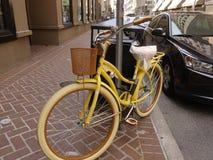 Cykel--New Orleans Arkivfoto