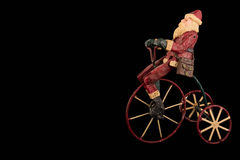 cykel santa Fotografering för Bildbyråer