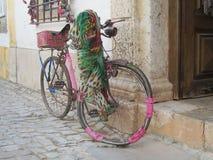 Cykel som festar Royaltyfri Foto