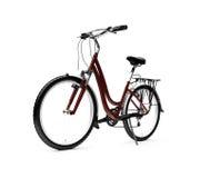 cykel som isoleras över white royaltyfri illustrationer