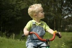 cykel som lärer till Royaltyfri Bild