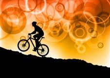 Cykelabstrakt begrepp Royaltyfria Bilder