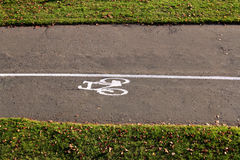 Cykelbana Arkivfoton