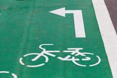 Cykelbana Arkivbild
