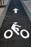 cykelbana Royaltyfri Fotografi