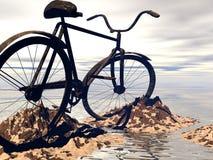 cykelberg vektor illustrationer