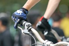 cykelbergrace Arkivfoton
