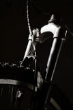 cykelbergshocks royaltyfri fotografi