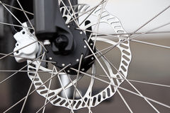 cykelbroms royaltyfri bild