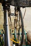 Cykeldetalj, bakgrund Arkivbilder
