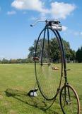 cykelfarthingencentmynt Arkivfoto