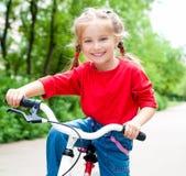 cykelflicka Royaltyfria Foton