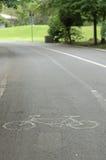 Cykelgränd Royaltyfria Bilder