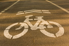 Cykelgränd Arkivfoto