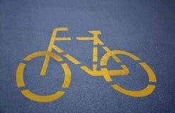 Cykelgränd Royaltyfri Bild