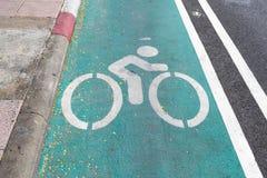 Cykelgränd royaltyfria foton