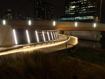 Cykelgränd under bron Arkivfoto