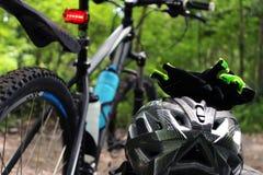 Cykelgummihjul Royaltyfri Fotografi
