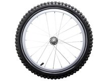 cykelhjul Arkivbild