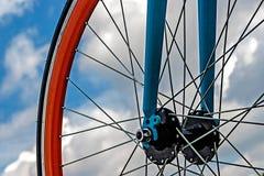 Cykelhjul. Detalj 19 Royaltyfri Fotografi