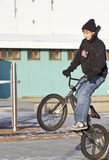 cykelhopp Arkivbild