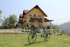 cykelhus Royaltyfri Fotografi