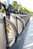 Cykelhyra i Toronto under sommar royaltyfri foto