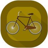Cykelillustration Fotografering för Bildbyråer